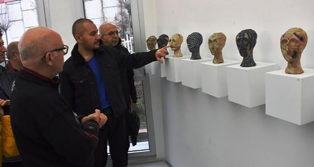 """""""YEŞİL DALGA 2"""" SERAMİK SERGİSİ AÇILDI"""