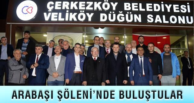 """""""ÇERKEZKÖY, KARDEŞLİĞİN KENTİDİR"""""""