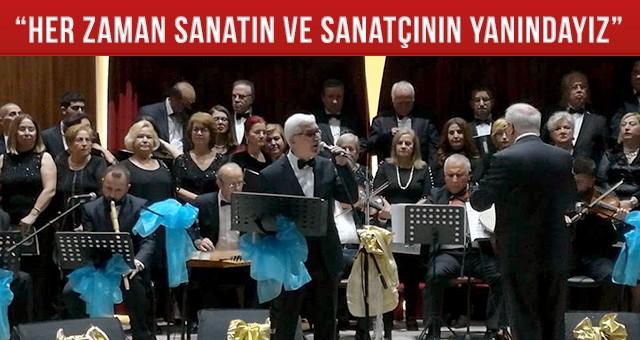 TRT'NİN SES SANATÇILARI TEKİRDAĞ'DA KONSER VERDİ