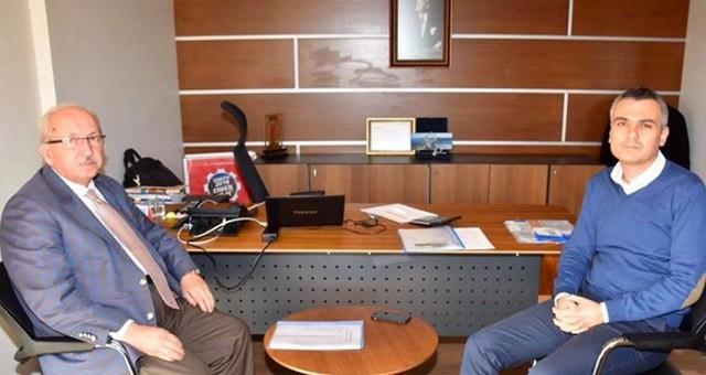 BAŞKAN ALBAYRAK'TAN TREPAŞ TRAKYA BÖLGE MÜDÜRÜ İSMAİL SERDAR DÖNMEZ'E ZİYARET