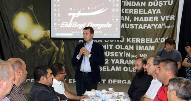 AKAY, EHLİ BEYT DERGAHI'NDA İFTAR VERDİ