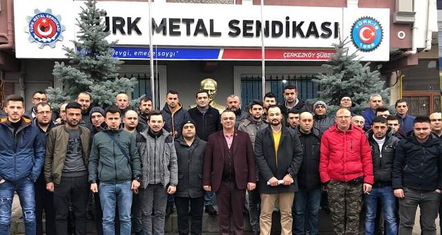 TMS'DEN 45 ÜYE EĞİTİME GÖNDERİLDİ