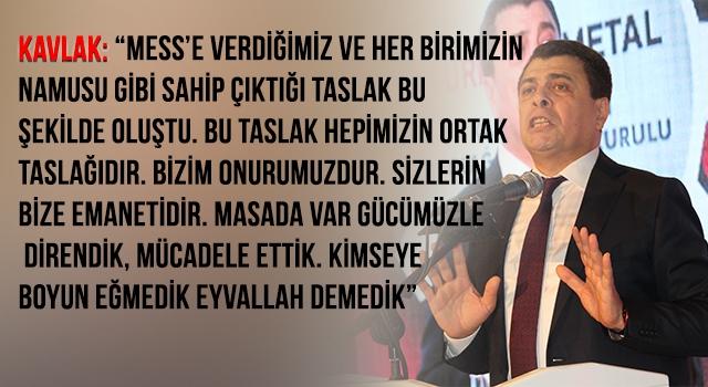 """KAVLAK: """"FİTİLİ 3 OCAK'TA ATEŞLEYECEĞİZ"""""""