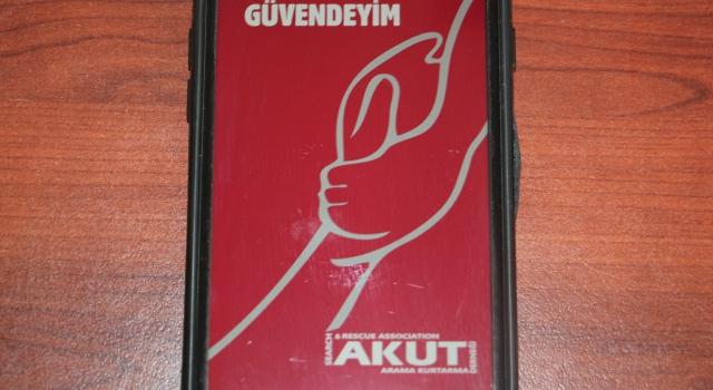 """ACİL DURUMLARDA """"GÜVENDEYİM""""İ KULLANABİLİRSİNİZ"""
