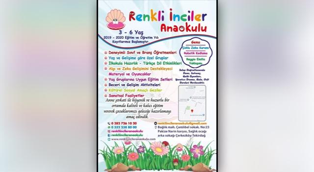 'RENKLİ İNCİLER' 9 OCAK'TA AÇILIYOR