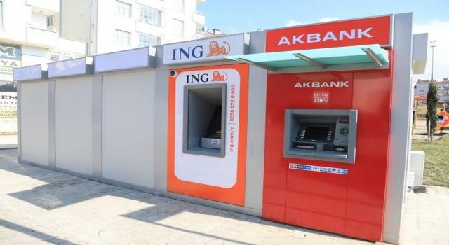 BANKA ATM'LERİ HİZMET VERMEYE BAŞLADI