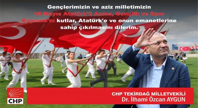 """AYGUN: """"19 MAYIS BİLİNCİ GENÇLERİMİZLE ŞAHLANIYOR"""""""