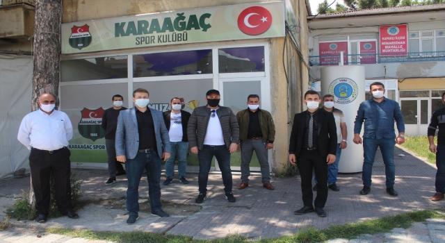 """KARAAĞAÇ'A STAD KAZANDIRMAK İSTİYORUZ"""