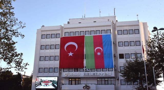 ÇORLU BELEDİYESİ'NDEN AZERBAYCAN'A DESTEK