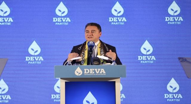 """ALİ BABACAN, TEKİRDAĞ'DAN ERDOĞAN'A SESLENDİ: """"HALKI UNUTTUNUZ"""""""
