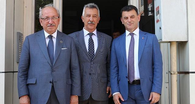 ALBAYRAK'TAN KAYMAKAM ÜNLÜSOY'A ZİYARET