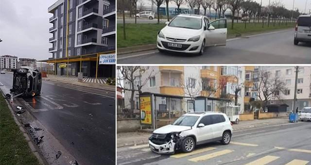 CENGİZ TOPEL CADDESİ 'TRAFİK CANAVARI CADDESİ'NE DÖNDÜ