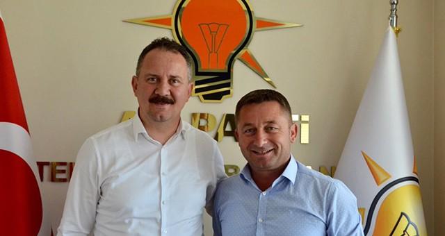 KOZUVA'DAN AK PARTİ İL BAŞKANI ÖZCAN'A ZİYARET