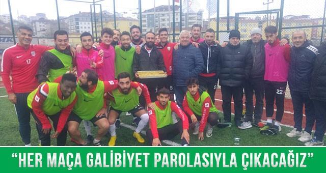 """""""İLK YARIYI İLK 3'TE BİTİRECEĞİZ"""""""