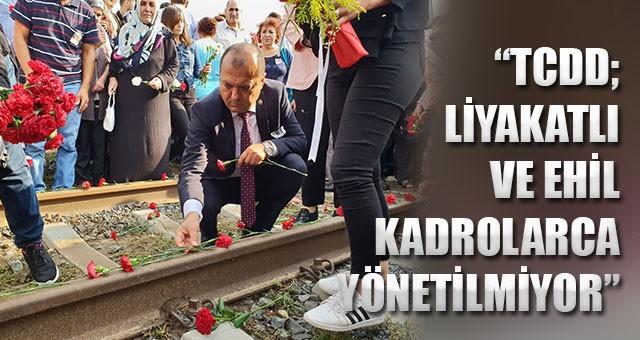 "AYGUN: ""TCDD'DE METEOROLOJİ MUHTARLARA EMANET!"""