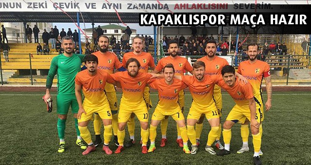 KAPAKLISPOR SERİ PEŞİNDE!