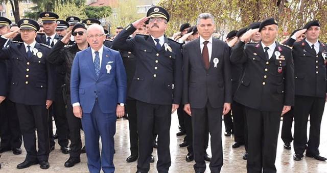 TEKİRDAĞ'DA POLİS TEŞKİLATININ KURULUŞ YIL DÖNÜMÜ KUTLANDI