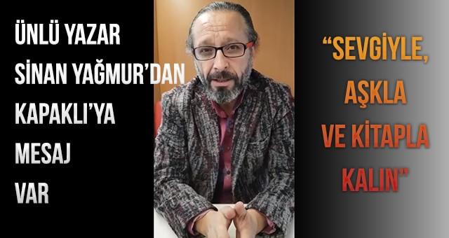 """""""SEVGİYLE, AŞKLA VE KİTAPLA KALIN"""""""