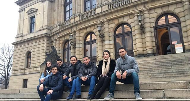 ÇERKEZKÖYLÜ ÖĞRENCİLER PRAG'DA