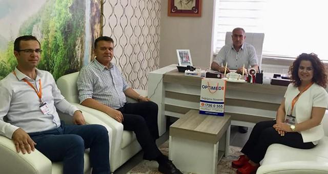 OPTİMED'TEN KARACA'YA ZİYARET