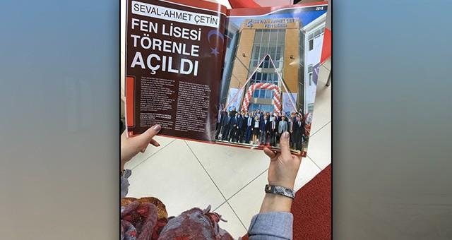 """""""EĞİTİMDE ÇERKEZKÖY"""" DERGİSİ YAYINDA"""
