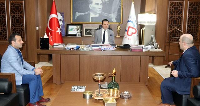 PROF. DR. ŞİŞMAN'DAN VEDA ZİYARETİ