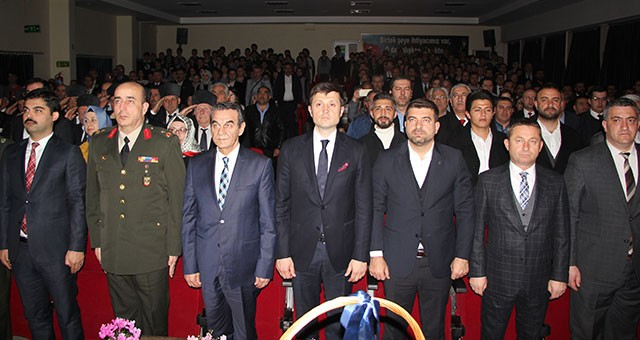 İSTİKLAL MARŞI'NIN KABULÜ ÇERKEZKÖY'DE COŞKUYLA KUTLANDI