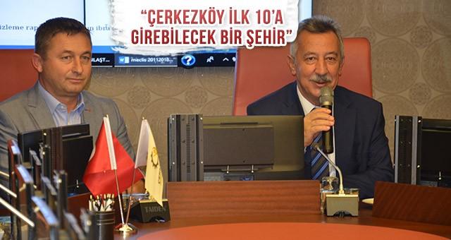 ÇTSO KASIM AYI MECLİS TOPLANTISI YAPILDI