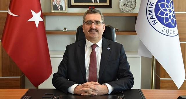 """REKTÖR ŞAHİN'DEN """"KUT'ÜL AMARE ZAFERİ''NİN 103. YILI"""" MESAJI"""