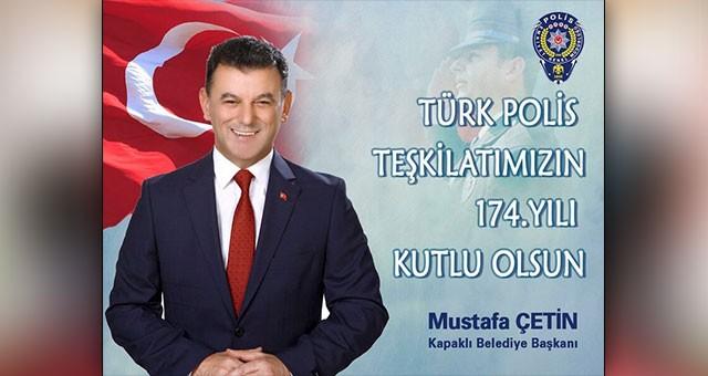 """POLİS TEŞKİLATIMIZA MÜTEŞEKKİRİZ"""