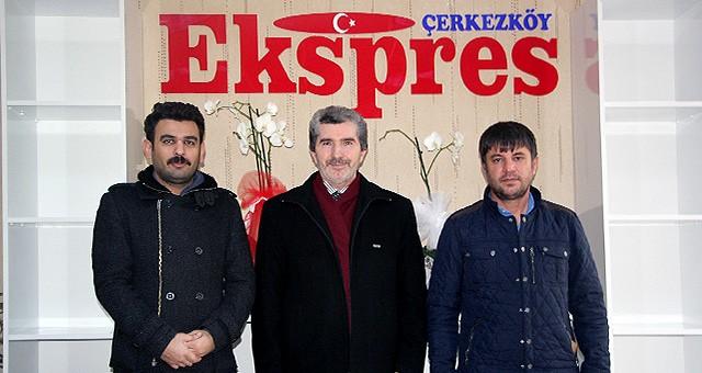 MÜFTÜ BARDAKÇI'DAN EKSPRES GAZETESİ'NE ZİYARET
