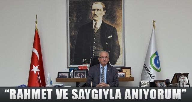 """""""HİÇBİR ZAMAN YERİ DOLDURULAMAYACAK BİR ŞAHSİYET"""""""