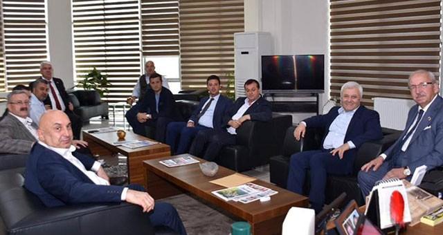 TUNCAY ÖZKAN'DAN ALBAYRAK'A ZİYARET
