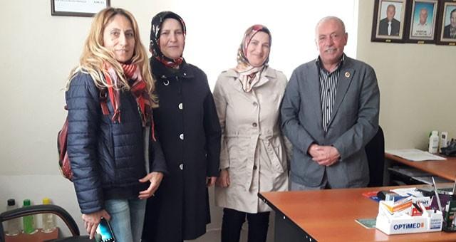 KAGEDER'DEN FEVZİ PAŞA MAHALLESİ MUHTARI ERSÖZ'E ZİYARET