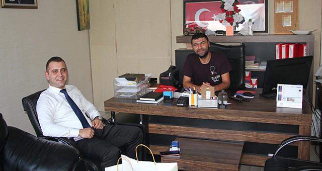 İRMET'TEN EKSPRES GAZETESİ'NE ZİYARET