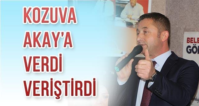 """KOZUVA """"BENİM BAŞKANIM DEĞİL"""""""