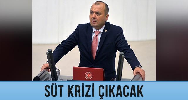 SÜTTE KRİZ KAPIDA