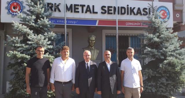 ALBAYRAK'TAN TÜRK METAL'E DESTEK ZİYARETİ