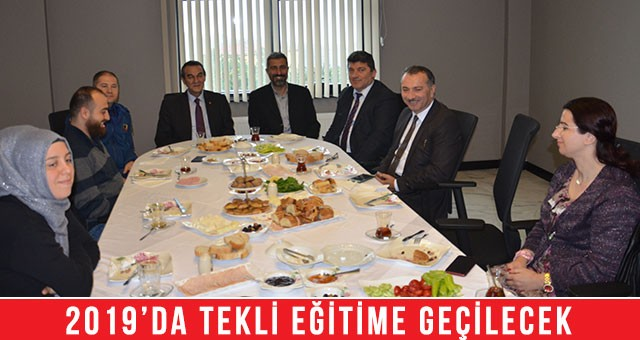 """""""ÇERKEZKÖY'E HER YIL 3-4 OKUL YAPILMASI GEREKİYOR"""""""