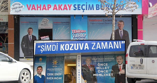 ÇERKEZKÖY'DE SEÇİM MARATONU