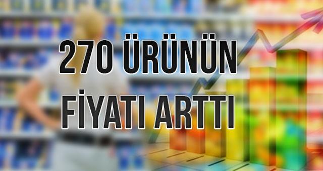 ENFLASYON MARTTA YÜZDE 19.71'E YÜKSELDİ