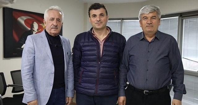 MECLİS ÜYESİ ADAY ADAYI MUSTAFA DURSUN'DAN MANDALI'YA ZİYARET