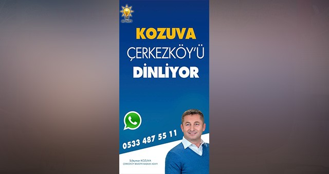 KOZUVA'YA HERKES ULAŞABİLECEK