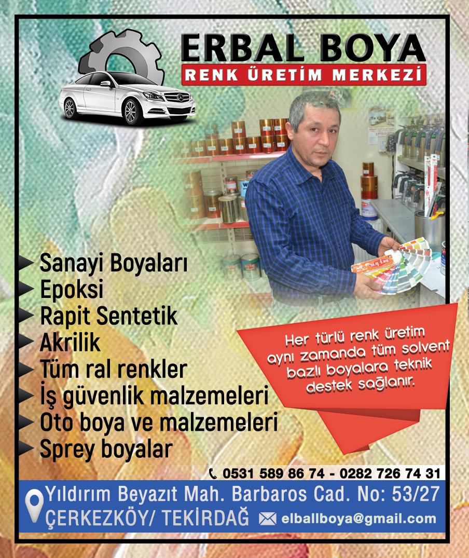 ERBAL BOYA