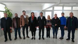 CHP'DEN AK PARTİ'YE ZİYARET