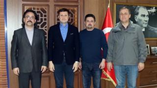 TÜRK OCAKLARI ÇERKEZKÖY ŞUBESİ'NDEN AKAY'A ZİYARET