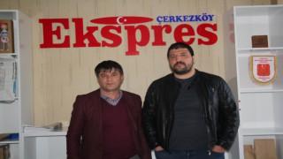 KIRKPINAR'IN BAŞPEHLİVANI RECEP KARA'DAN EKSPRES'E ZİYARET