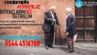 ÜLKÜ OCAKLARI'NDAN 60 YAŞ ÜSTÜ VATANDAŞLARA KOLAYLIK