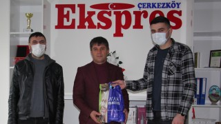 ÇETİN GRUP'TAN GAZETECİLER GÜNÜ ZİYARETİ
