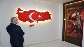 VALİ YILDIRIM'DAN KIZILPINAR JANDARMA KARAKOLU'NA ZİYARET